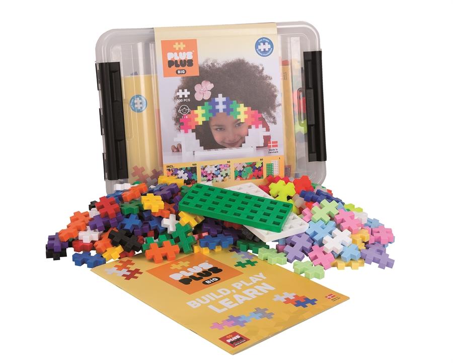 Plus-Plus - BIG Storage Box Mix - 200 pcs (3413)