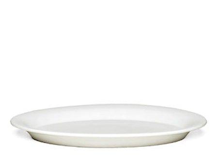 Ursula tallerken Hvit Ø 33 cm