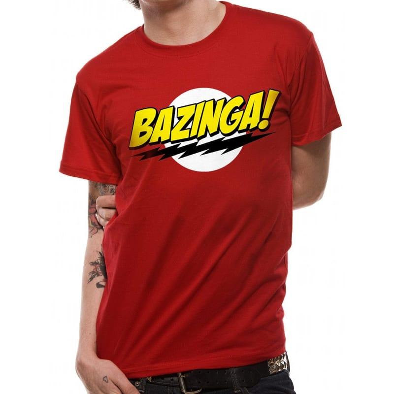 Big Bang Theory Bazinga T-Shirt, Small