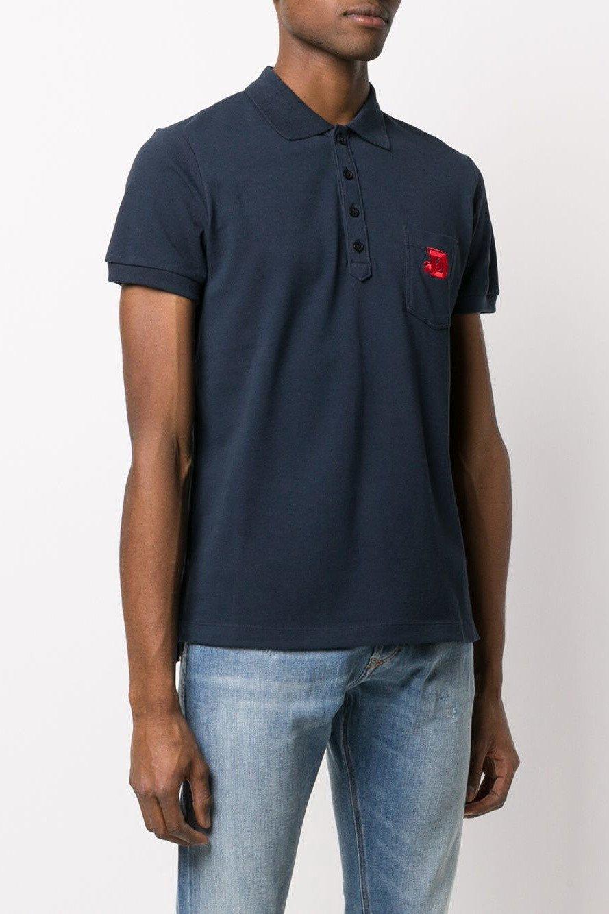 Diesel Men's Polo Shirt Various Colours 283808 - blue-4 L