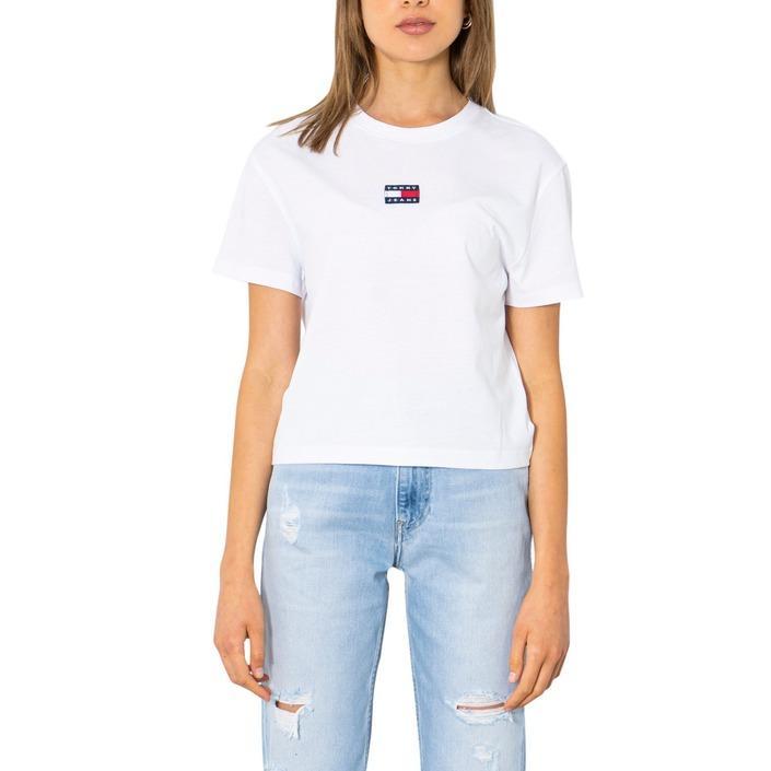 Tommy Hilfiger Jeans Women's T-Shirt Various Colours 299884 - white XXS