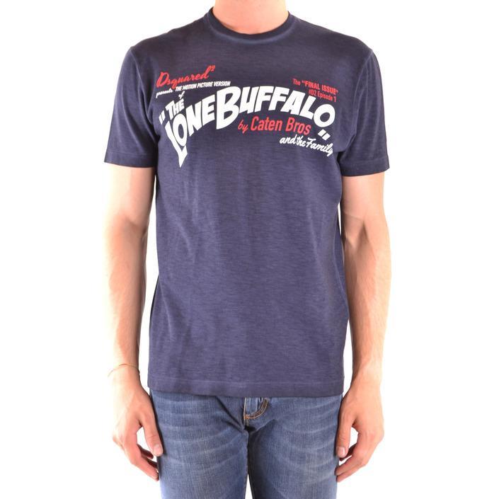 Dsquared Men's T-Shirt Blue 167580 - blue S