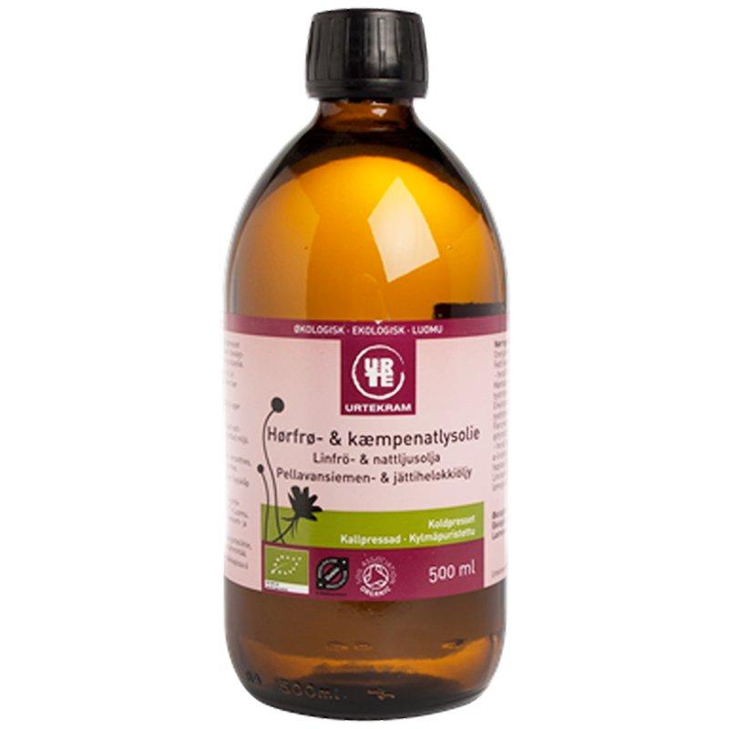 Linfrö- & Nattljusolja 500ml - 81% rabatt