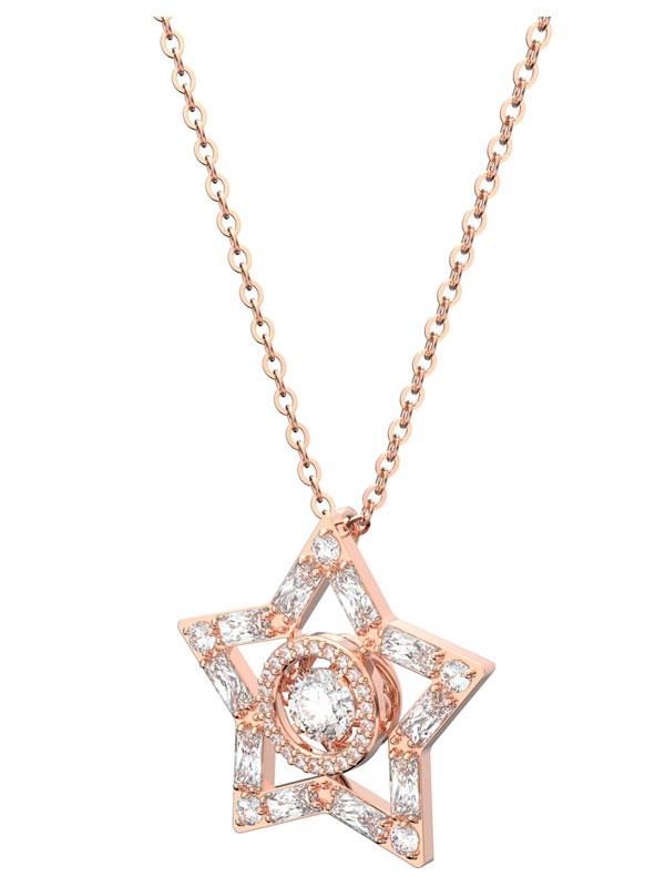 Swarovski Halsband Stella - Rosé 5617766