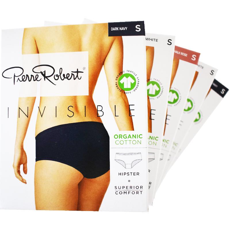 Trosor Hipster Invisible Bomull S Mix 5-pack - 69% rabatt