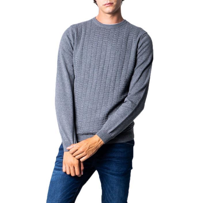 Antony Morato - Antony Morato Men Knitwear - grey XXL