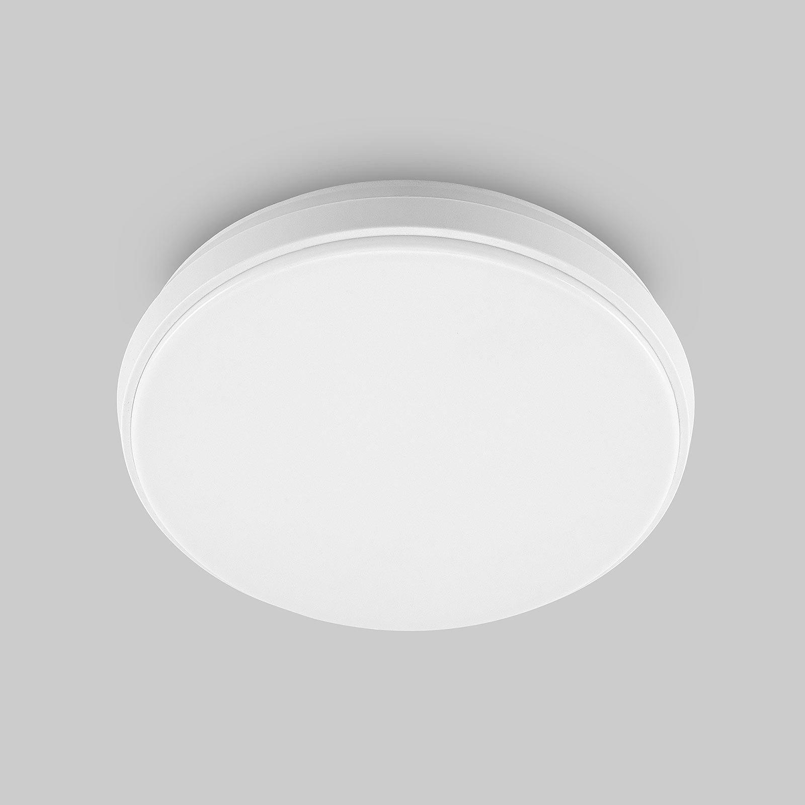 Arcchio Brady LED-taklampe, hvit, rund, 25 cm