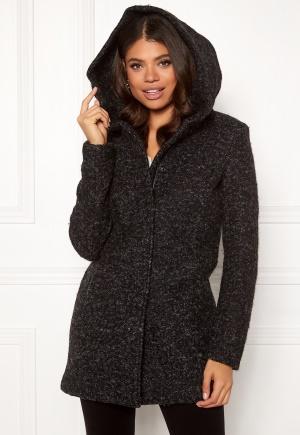 ONLY Sedona Boucle Wool Coat Black S