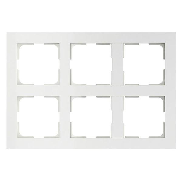 Elko EKO05242 Yhdistelmäkehys valkoinen 2 x 3 lokeroa