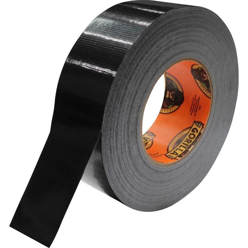 Gorilla Tape, 32m x 48mm Sort For de tøffeste jobben på jorden!