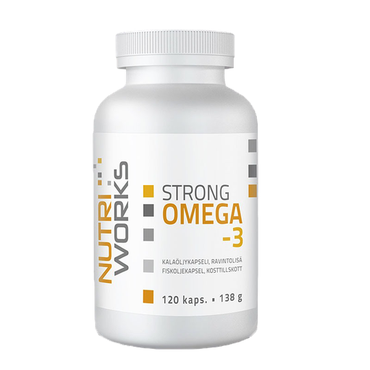 Strong omega-3, 120 caps