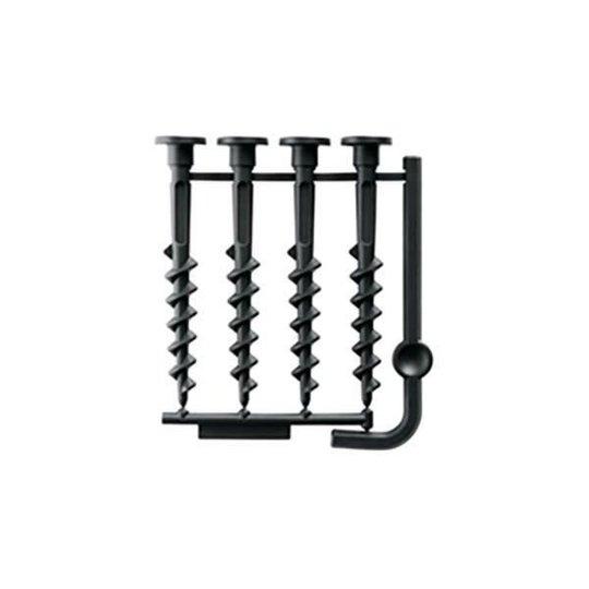 Bosch DIY F016800468 Kiinnitysruuvit 4 kpl, malliin Indego