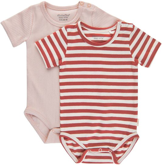 Minymo Body 2-pack, Canyon Rose, 56