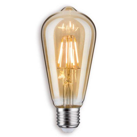E27 5 W LED-rustiikkilamppu, kulta