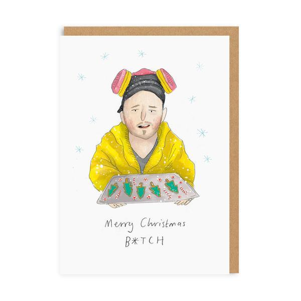Merry Christmas B*tch Greeting Card
