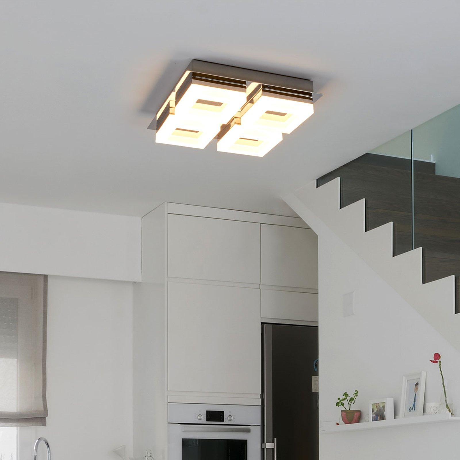 Marija LED-taklampe for baderom med 4 lyskilder