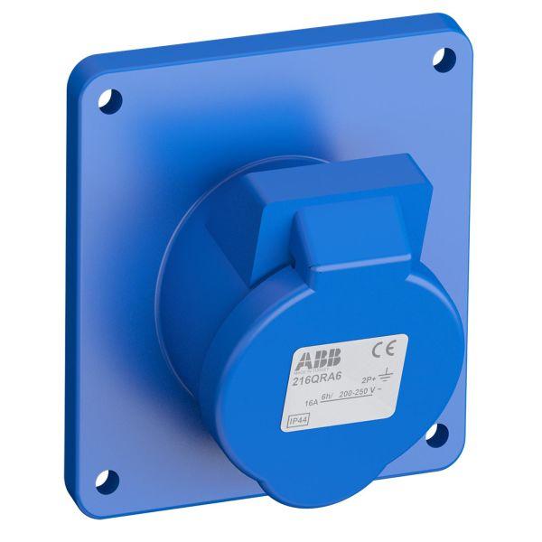 ABB 2CMA102290R1000 Paneelin ulostulo pikaliitettävä, tärinänkestävä Käännetty