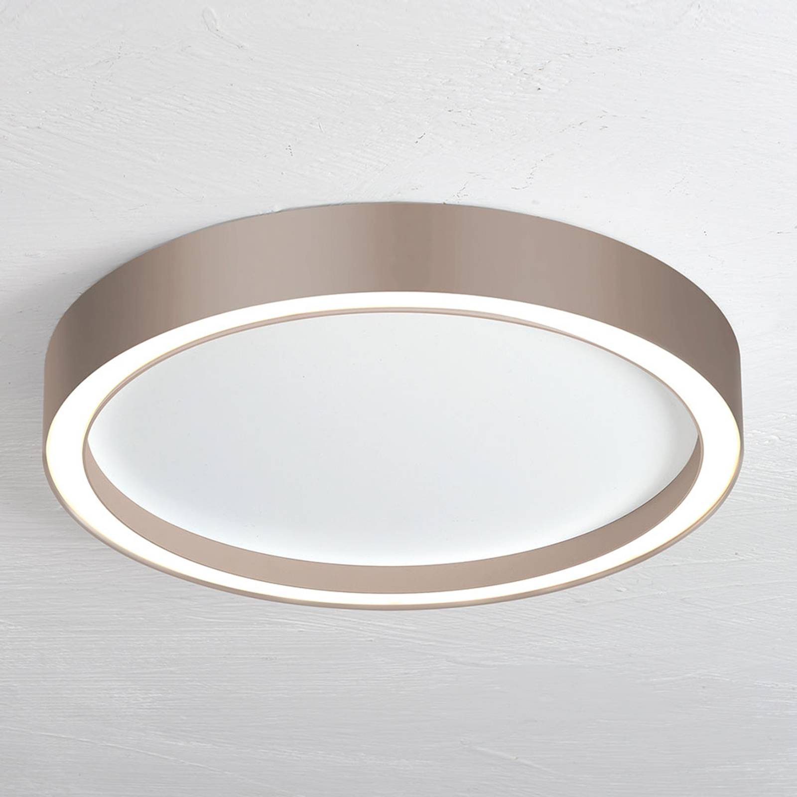 Bopp Aura LED-kattovalaisin Ø 55 cm taupe