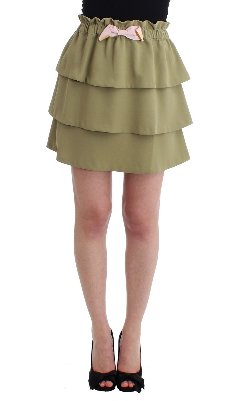 Cavalli Women's Skirt Green SIG11486 - IT42|M