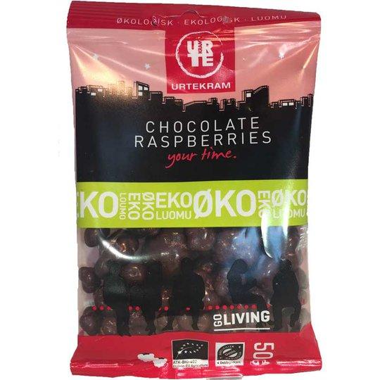 Chocolate raspberries eko 50 g - 34% rabatt
