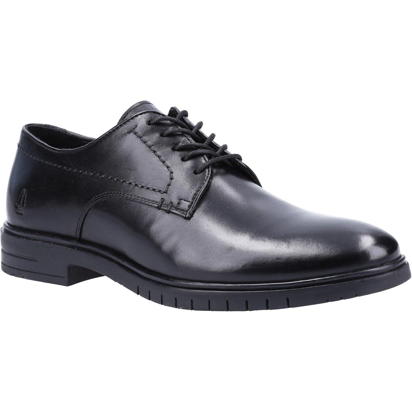 Hush Puppies Men's Sterling Lace Derby Shoe Black 31992 - Black 12