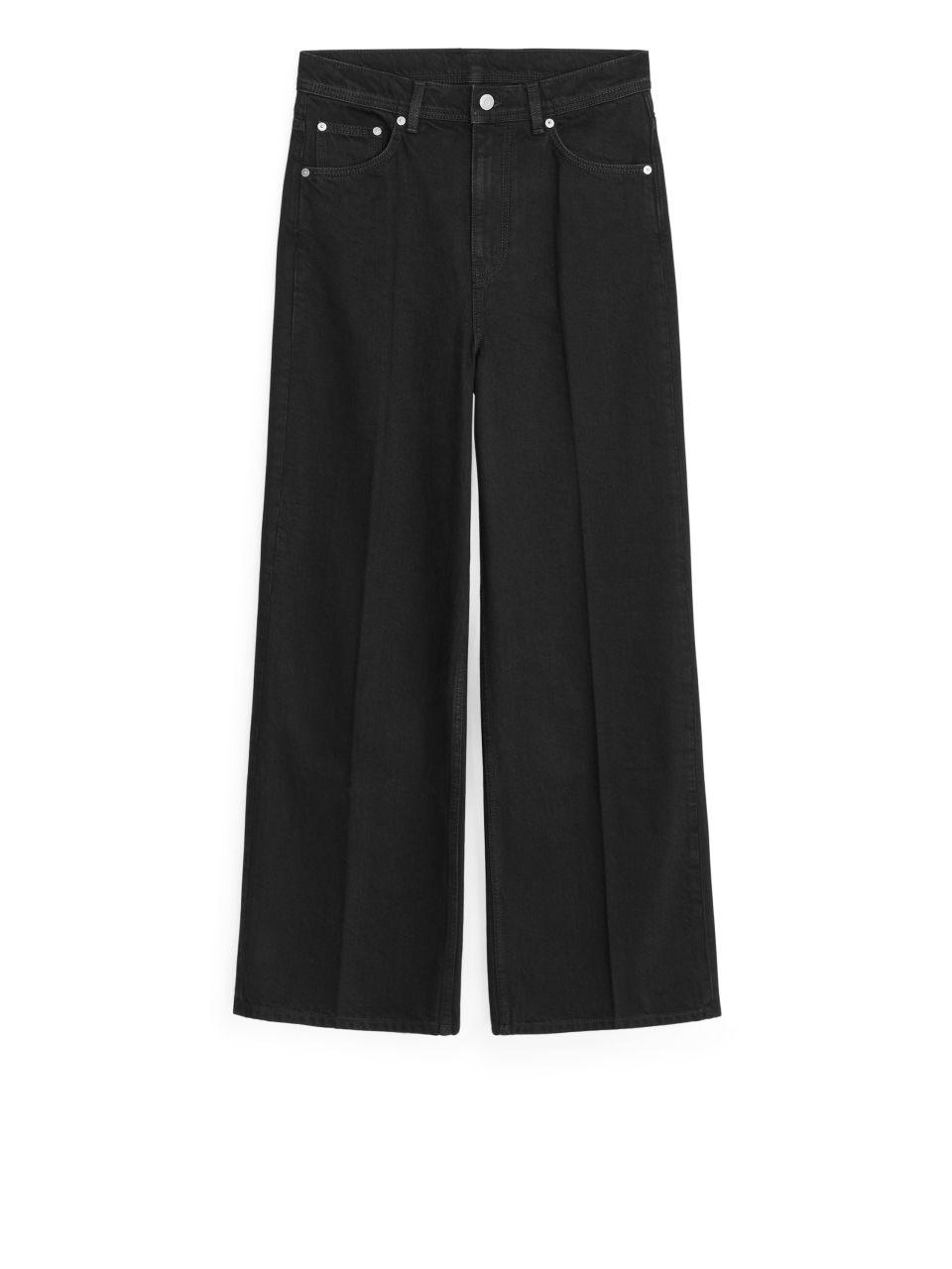 WIDE Jeans - Black