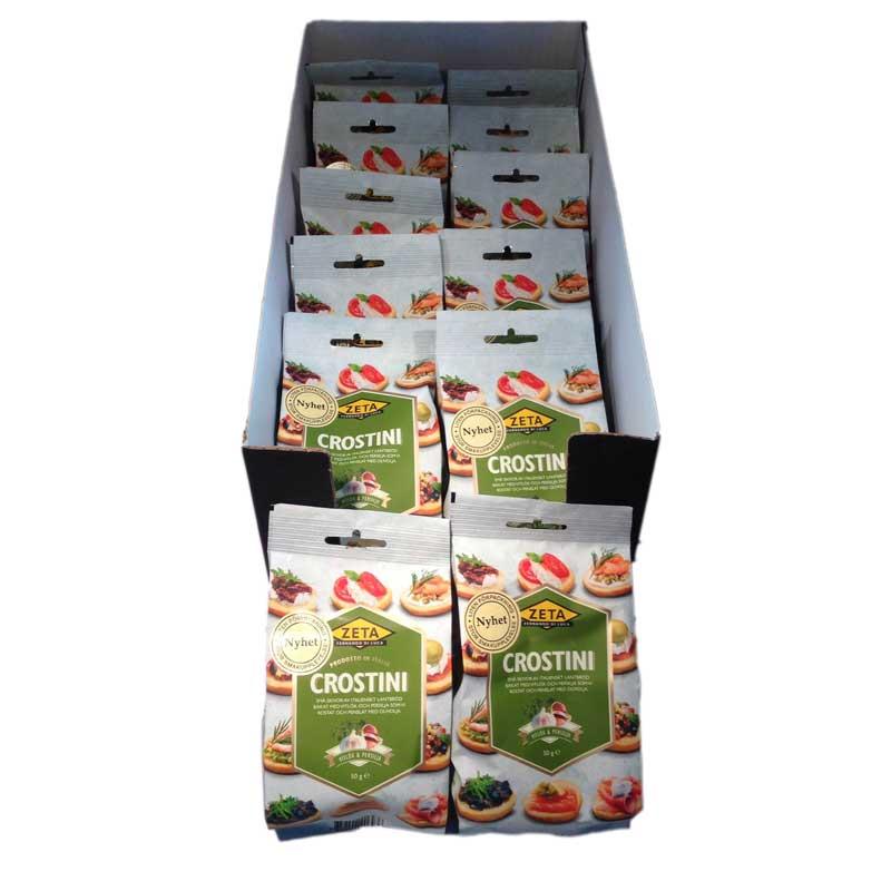 Hel Låda- Crostini vitlök och persilja - 64% rabatt