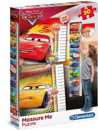 Disney Cars 3 Puslespill Målestokk