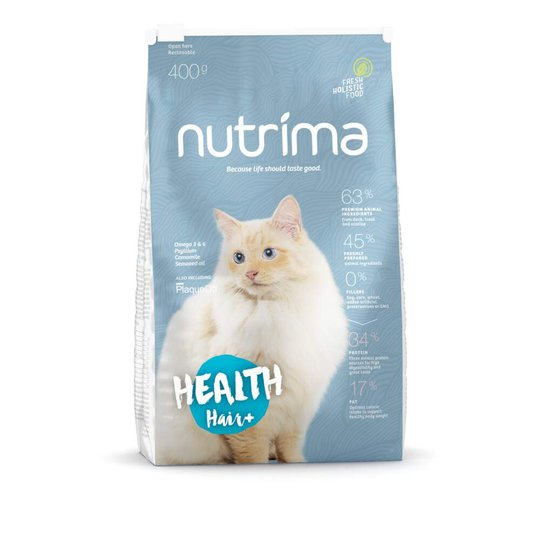 Nutrima Cat Health Hair+ (400 g)