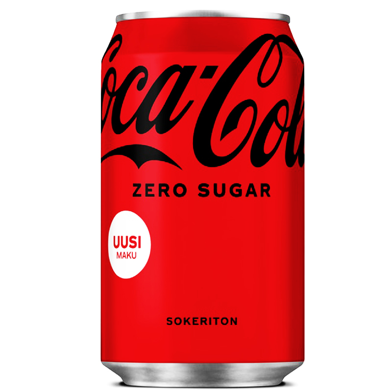 Coca-Cola Zero - 0% alennus