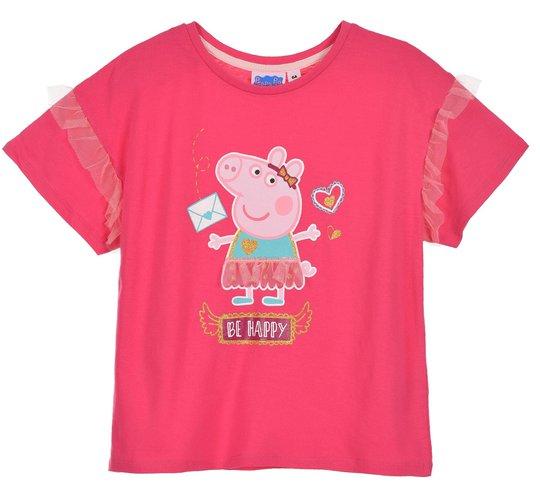 Peppa Gris T-Shirt, Fushia, 5 År