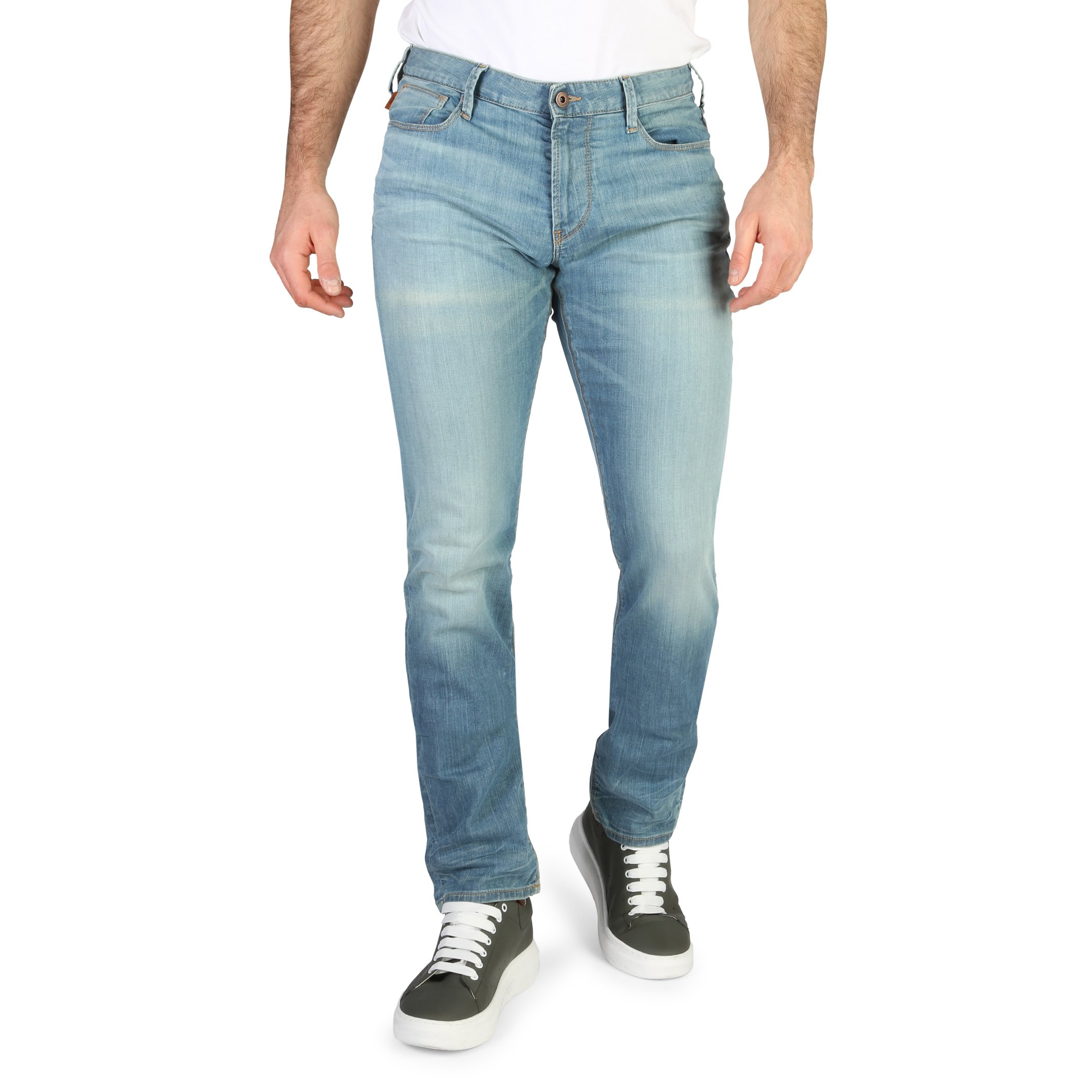 Emporio Armani Men's Jeans Blue 330055 - blue-3 32