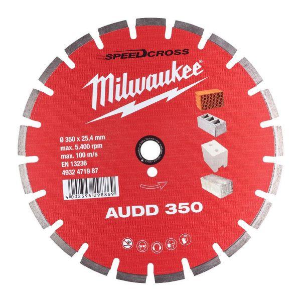 Milwaukee Speedcross Timanttilaikka AUDD