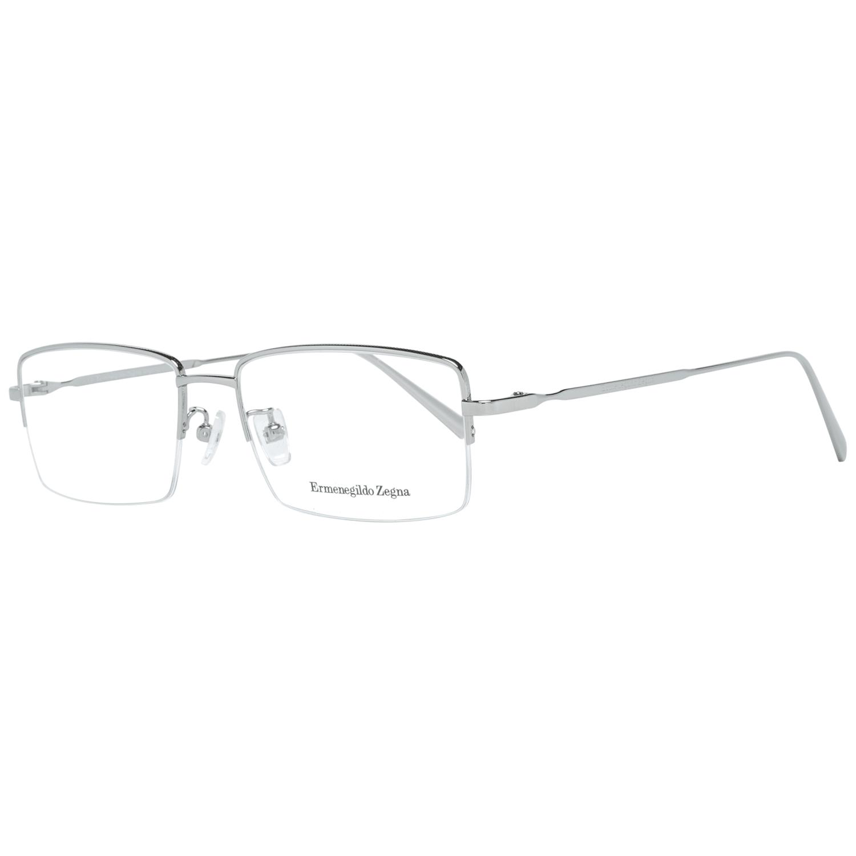 Ermenegildo Zegna Men's Optical Frames Eyewear Silver EZ5066-D 54012