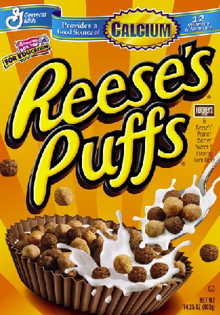 Reeses Peanut Butter Puffs Cereal 326gram