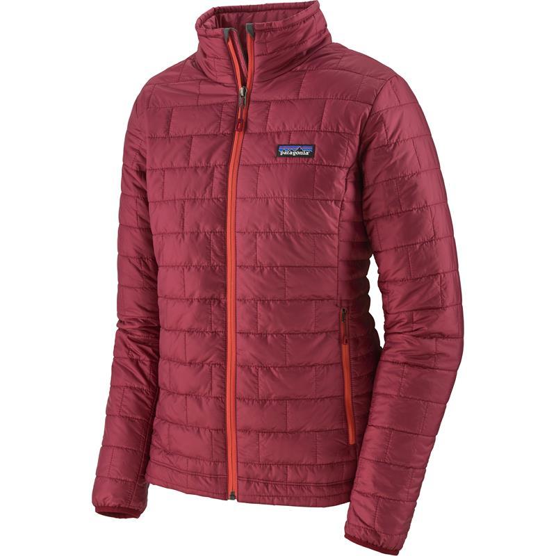 Patagonia Nano Puff Jacket L Foret jakke, dame, Roamer Red