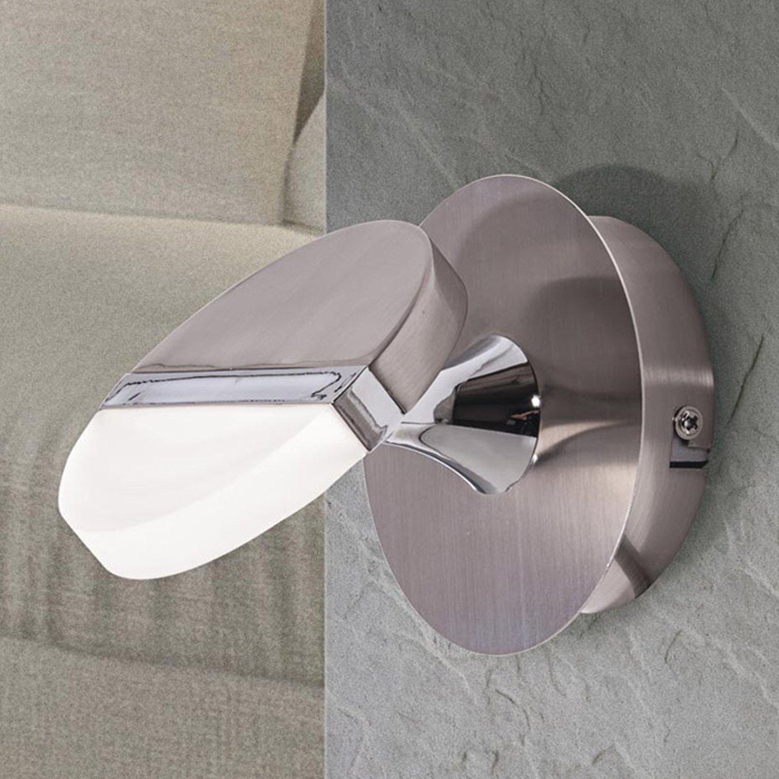 Justerbar LED-vegglampe Jenaro med 1 lys