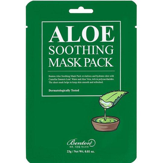 Aloe Soothing Mask Pack, 23 ml Benton Kasvonaamio