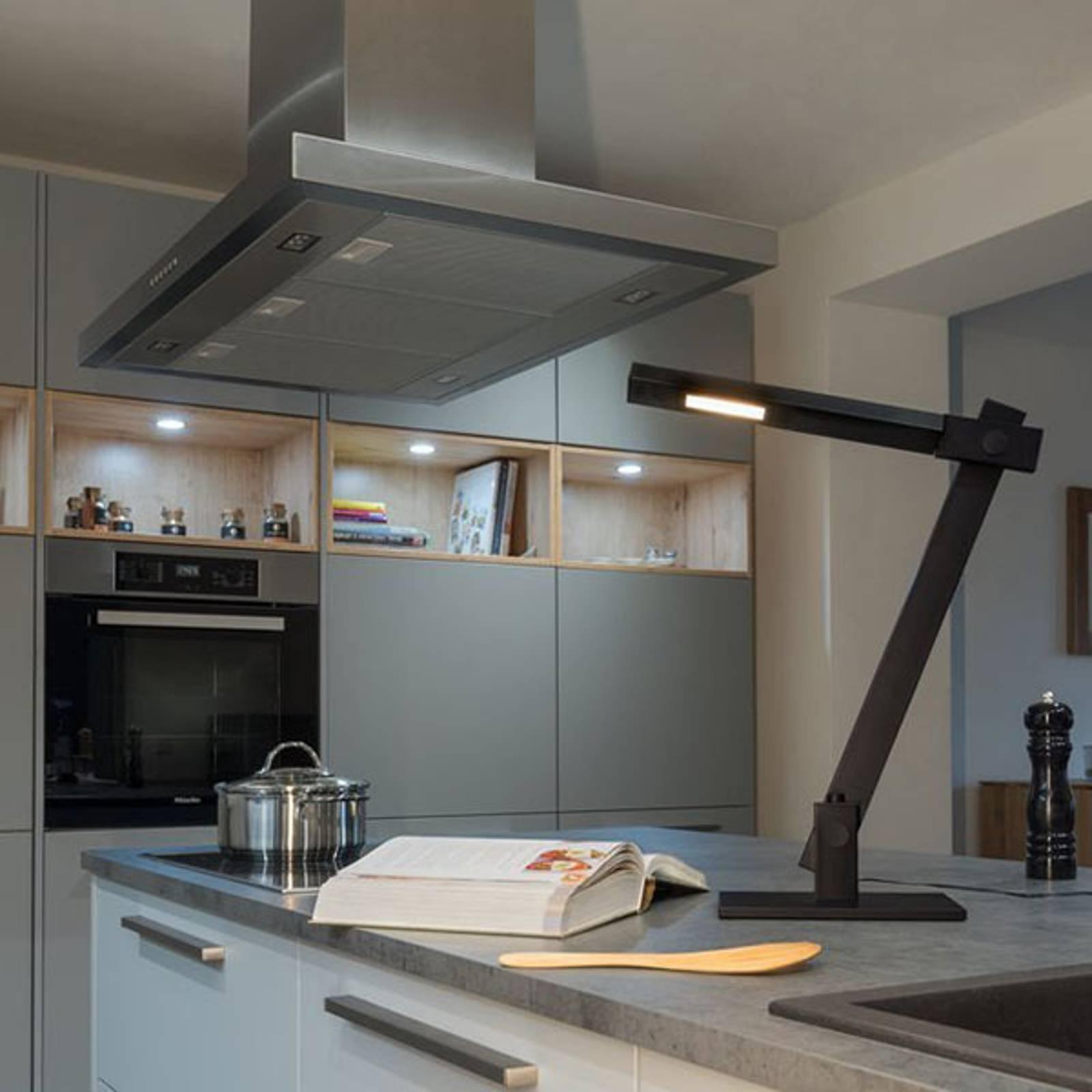 SLV Mecanica Plus -LED-pöytälamppu värinvaihdolla