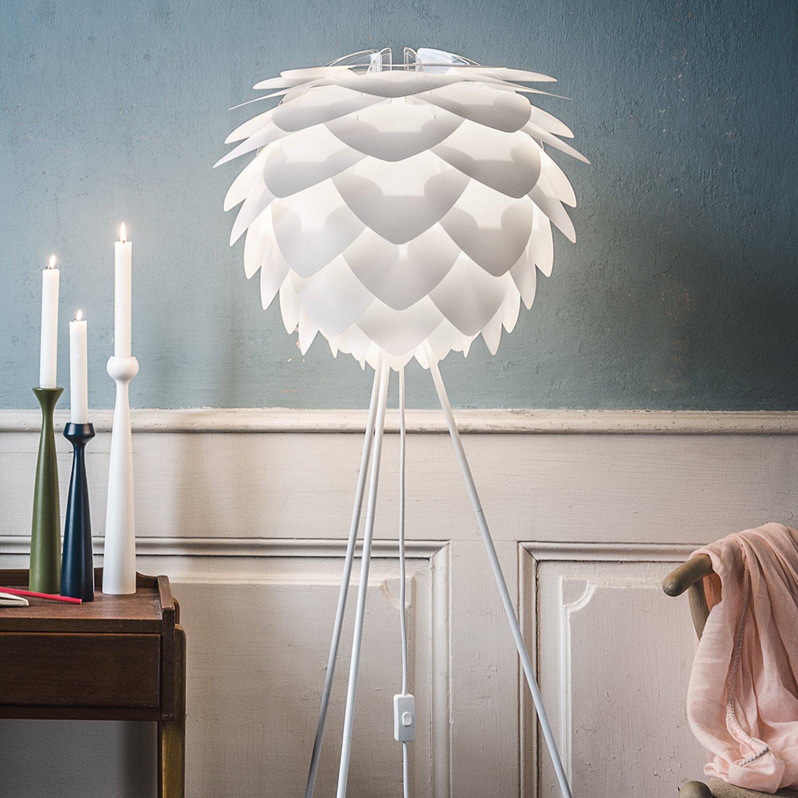 UMAGE Silvia medium gulvlampe Tripod hvit