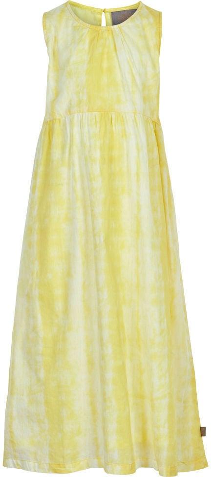 Creamie Tie Dye Klänning, Popcorn, 110