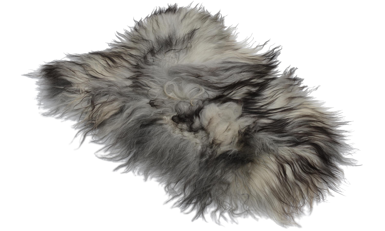 Molly natural grey PW - saueskinn øko
