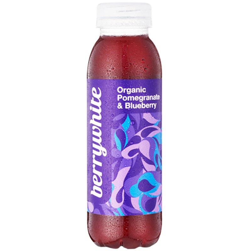 "Luomu ""Pomegranate & Blueberry"" Juoma 330ml - 57% alennus"