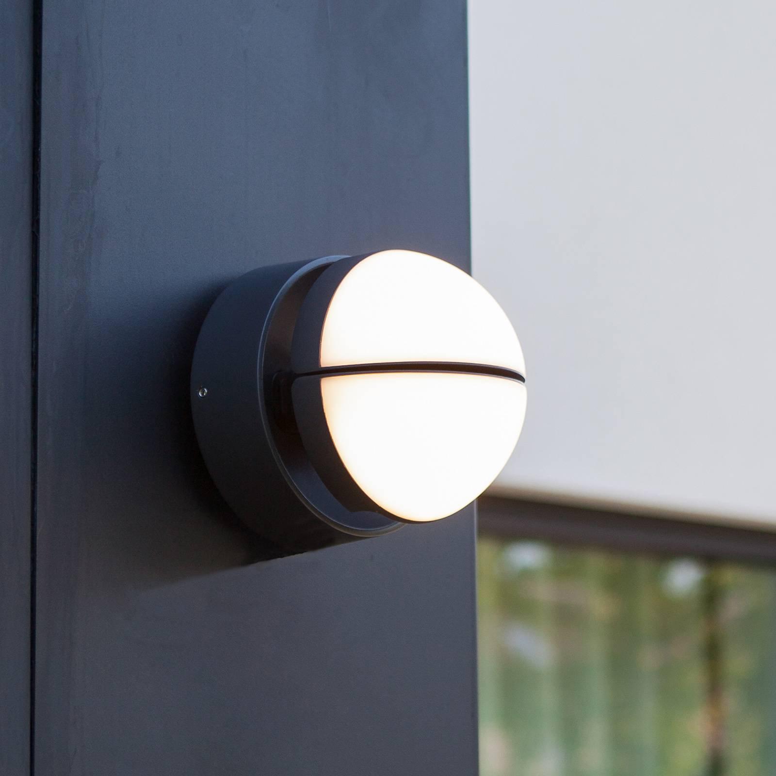 LED-vegglampe Eklips, 2 lyskilder