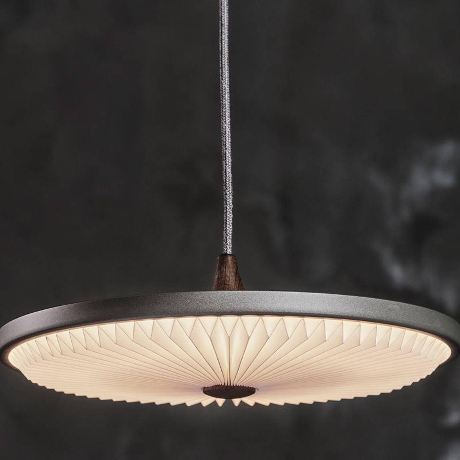 LE KLINT Soleil -LED-riippuvalo tummanharmaa 50 cm
