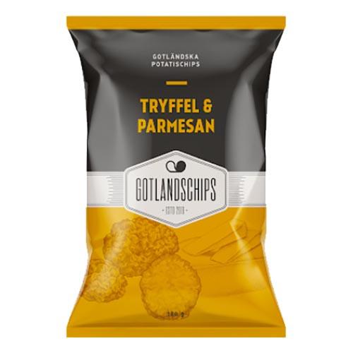 Gotlandschips Tryffel & Parmesan - 180 gram