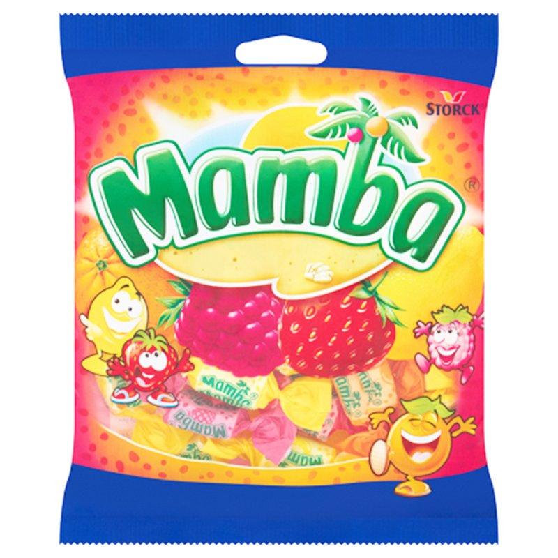 """Godis """"Mamba"""" 125g - 28% rabatt"""