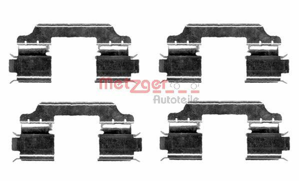 Tarvikesarja, jarrupala METZGER 109-1654