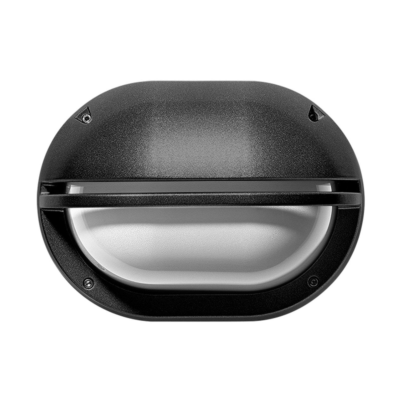 LED-vegglampe Eko+19 Grill antrasitt 3 000 K