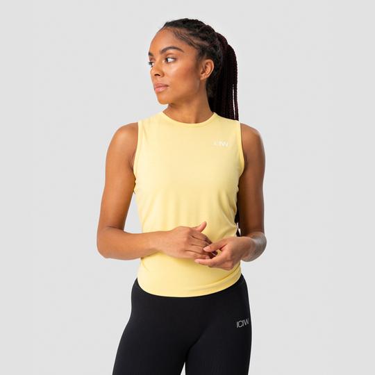 Empowering Open Back Tank, Lemon